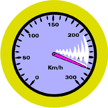 Speed gauge